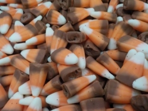 PALLET OF CANDY CORN