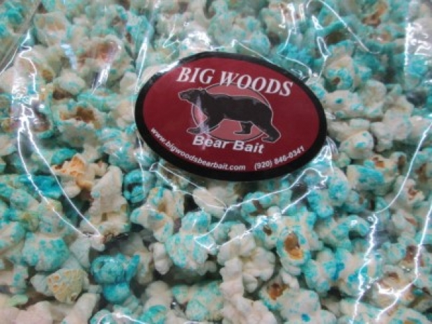 Bags of Blueberry Blast Candied Popcorn